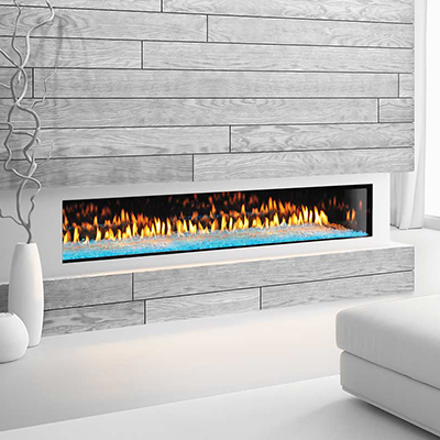 Heat & Gloprimo 72 modern gas fireplace
