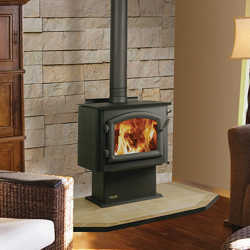 millenium traditional wood stove