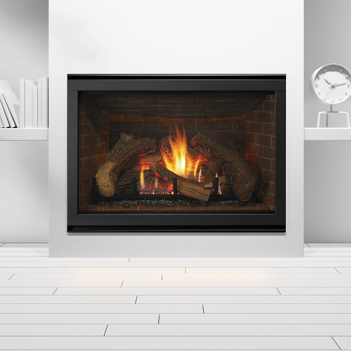 gas fireplace 8000cl photo straight on clean face black stratford 4c low res