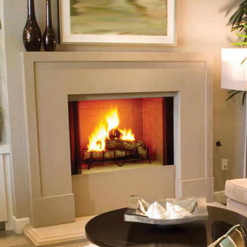 exclaim traditional wood fireplace thumbnail