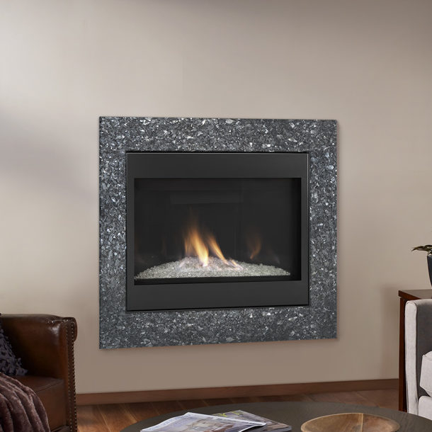 novus evolution modern gas fireplace