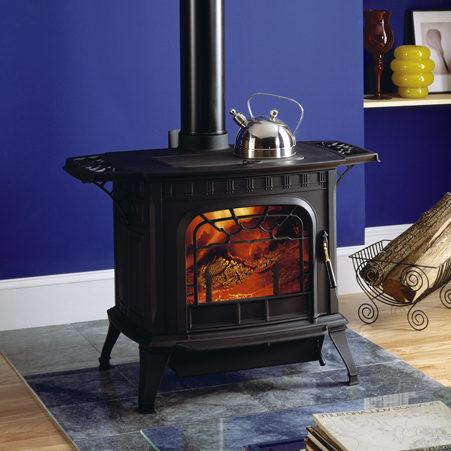 oakwood wood traditional stove