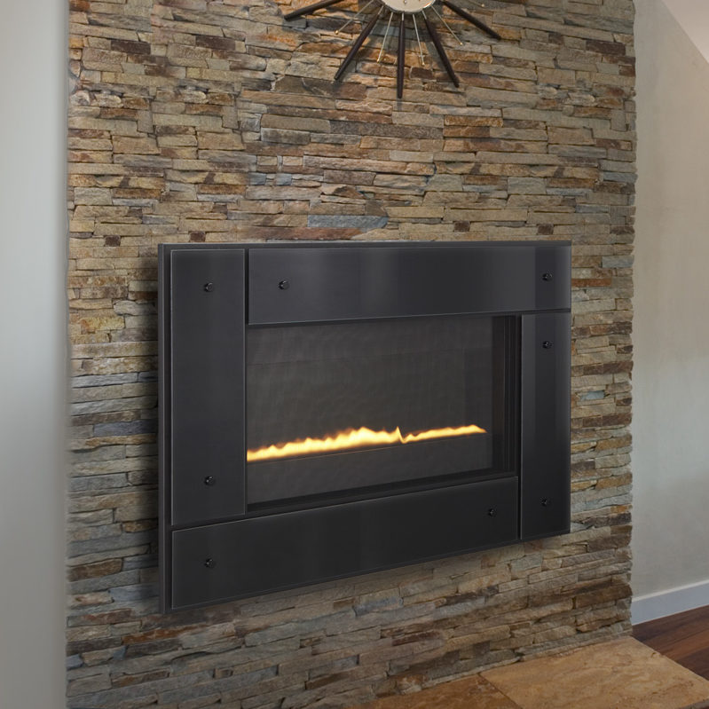 REVO horizontal 31 modern gas fireplace thumbnail