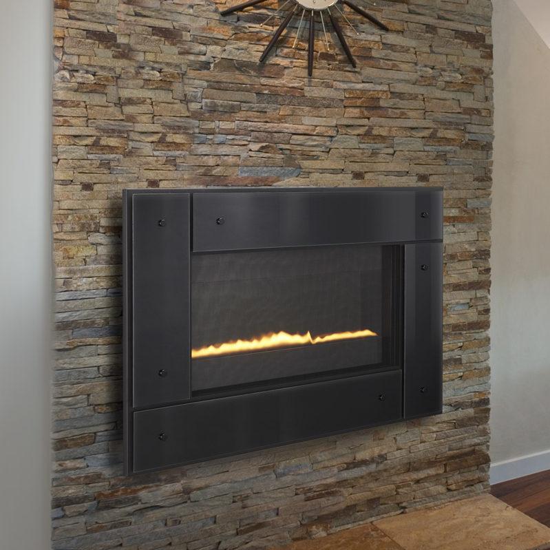 REVO horizontal 31 modern gas fireplace thumbnail