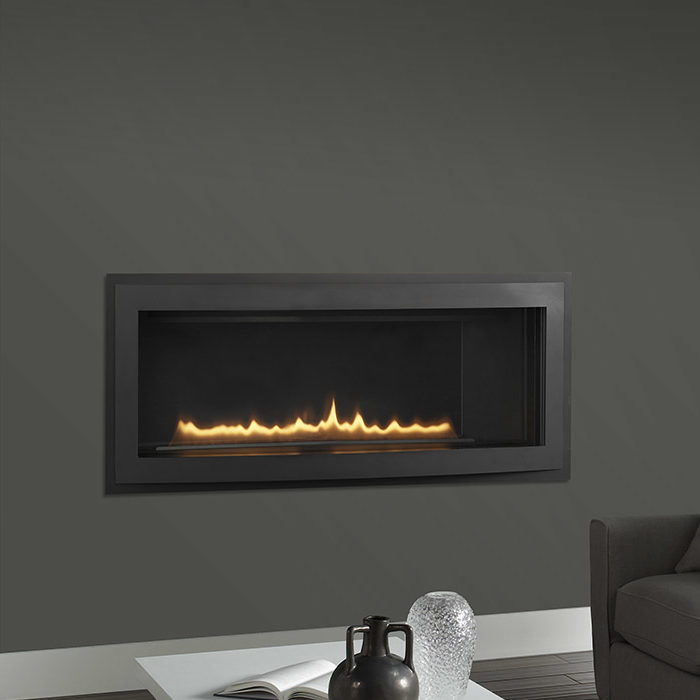 Rave-42 modern gas fireplace