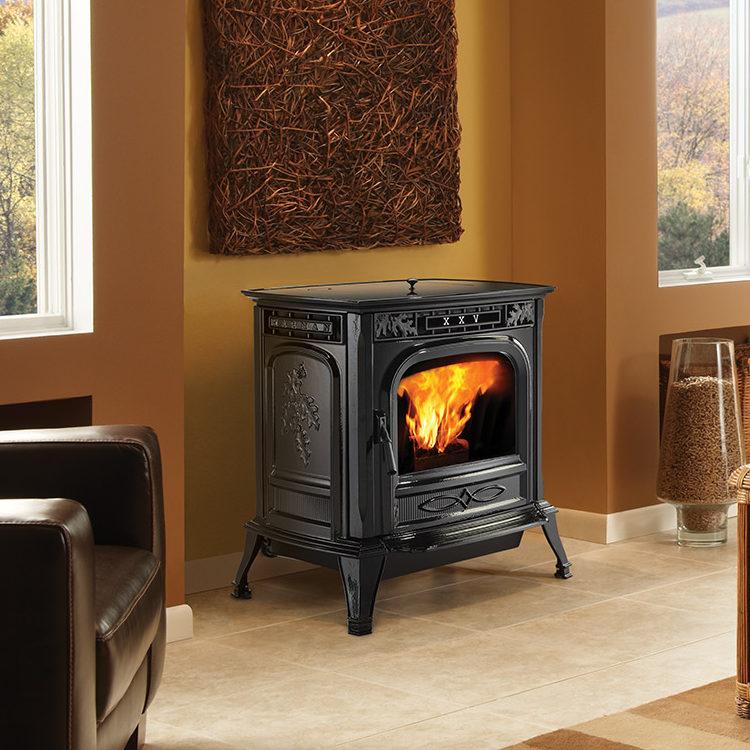 XXV - traditional pellet stove